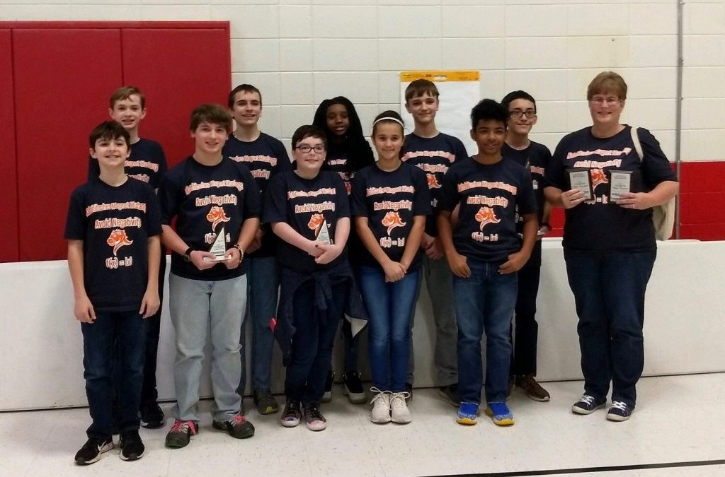 Local Students Place at MATHCOUNTS Competition